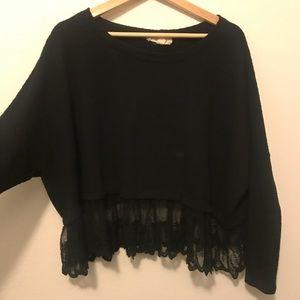 Black Lace detail crop too Nordstrom